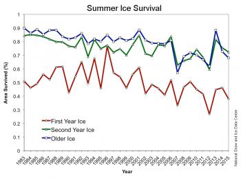 ice survival graph