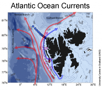 ocean current map