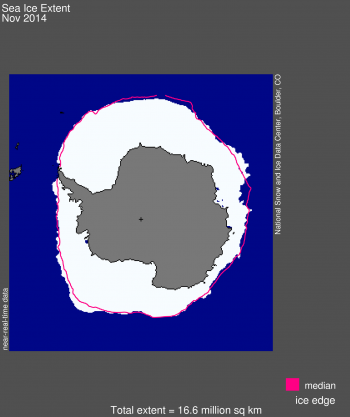 antarctic extent map