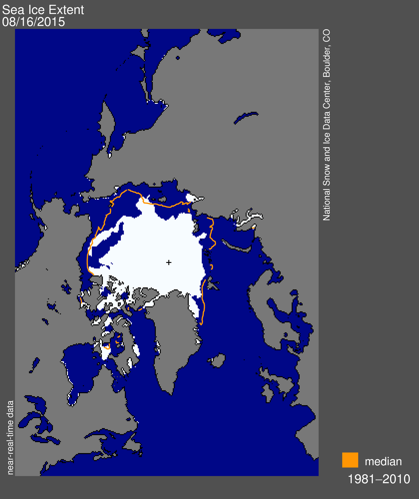 August 2015 arctic sea ice news and analysis arctic sea ice extent for august 16 2015 was 579 million square sciox Gallery