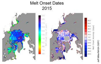 melt onset maps