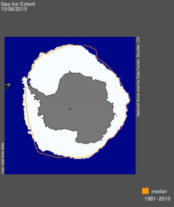 sea ice extent image