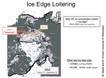 ice edge map