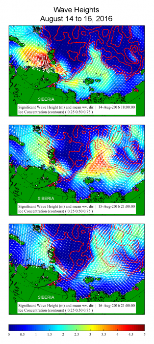 wave height maps