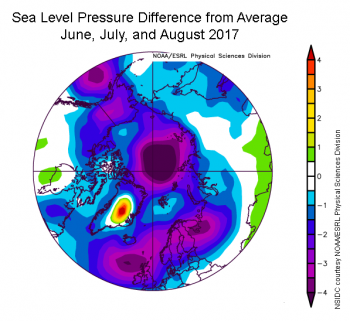 pressure anomaly
