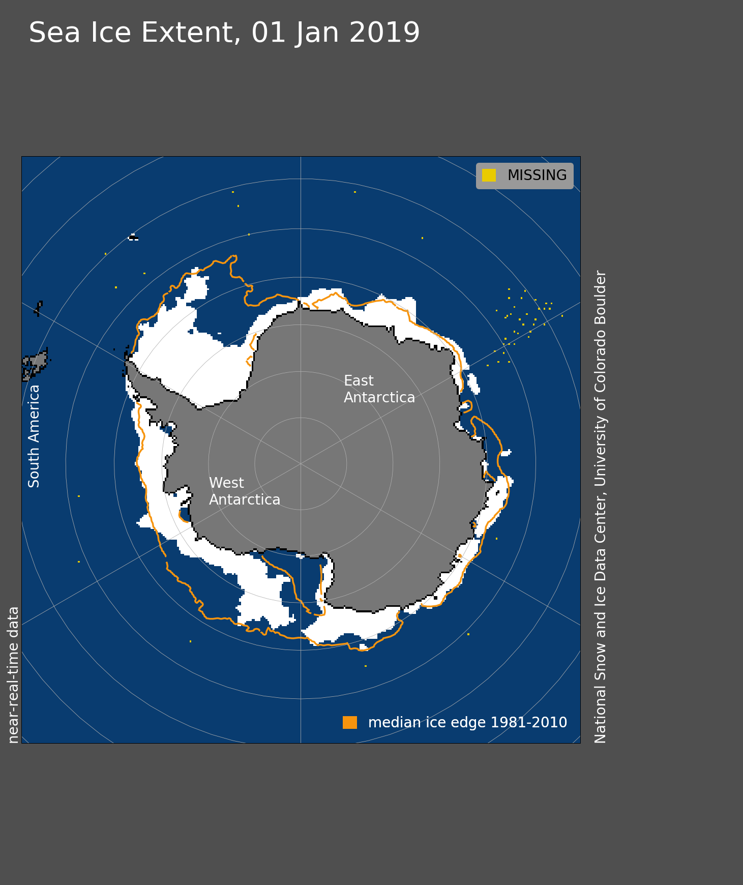 2019: A Record-low Start To The New Year In Antarctica