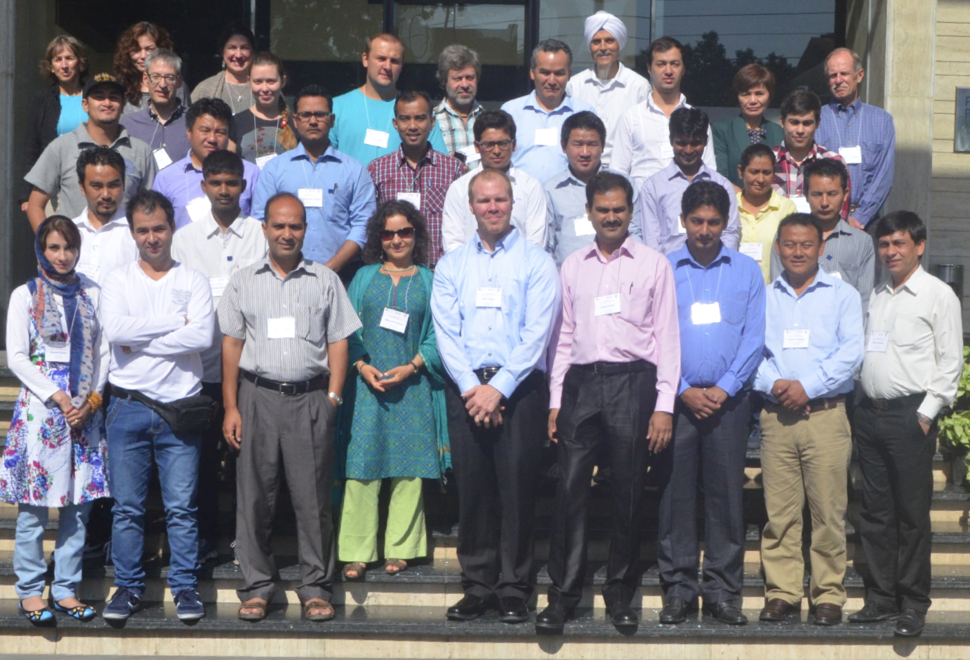 Participants of the Dehradun, India, Short Course Training, October 13-­16, 2014 Credit: Bikas Chandra Bhattarai