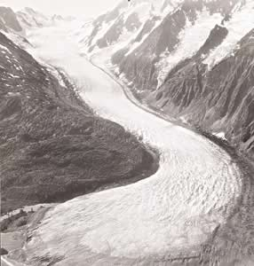 Sample Image: Takhin Glacier, Alaska, USA, 04 August 1948.