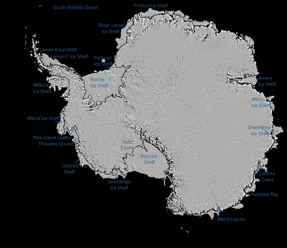 Images of antarctic ice shelves avhrr modis archive