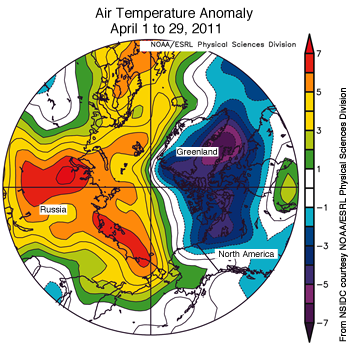 figure 4: air temp map