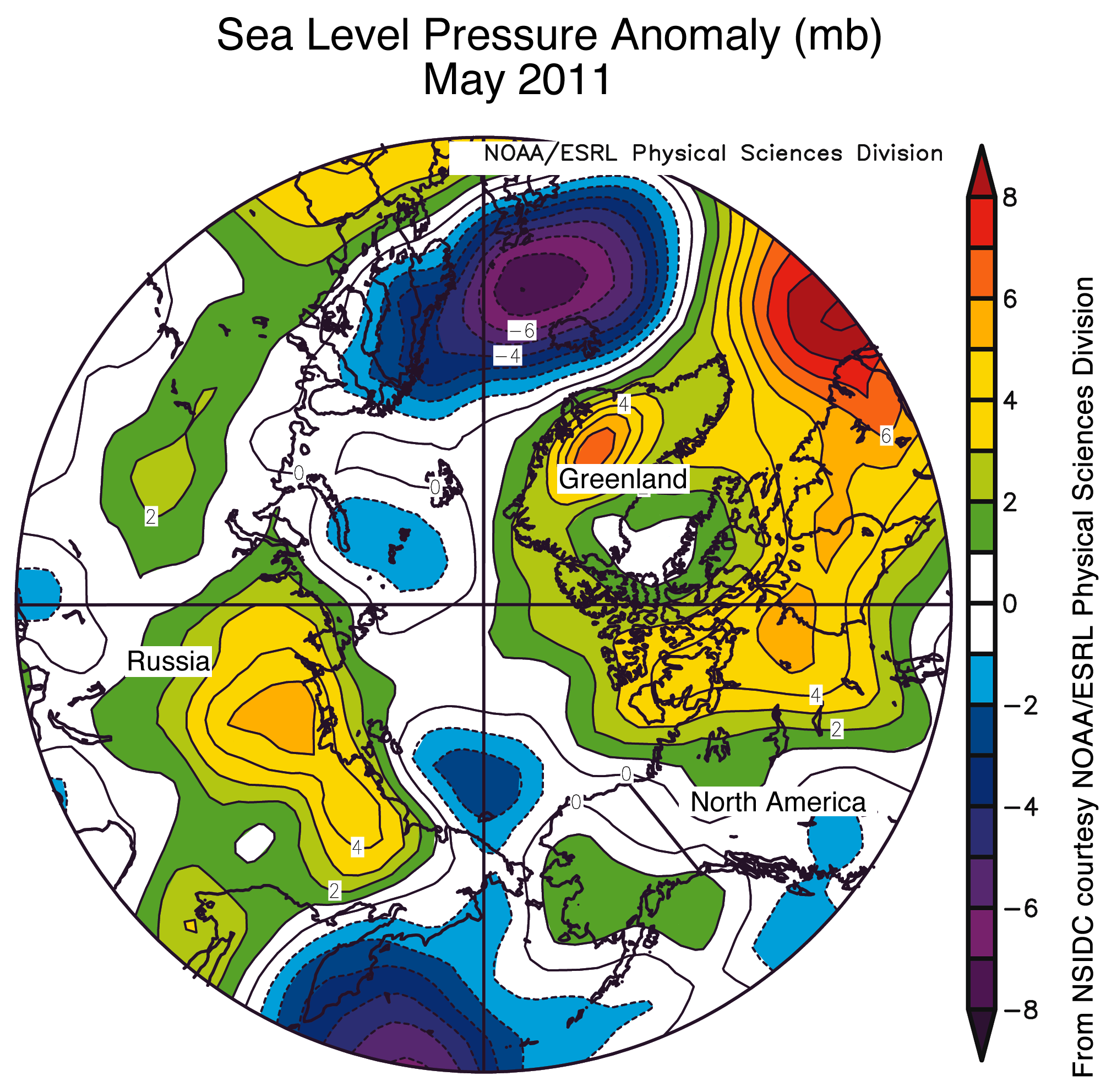 Worksheet. Low ice extent in May but summer melt will depend on weather
