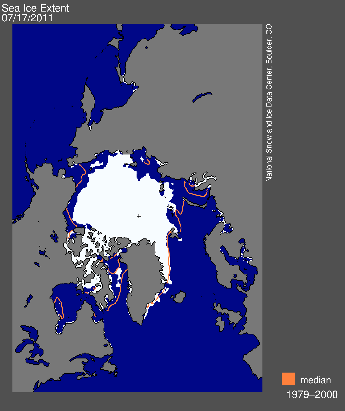 Early sea ice melt onset snow cover retreat presage rapid 2011