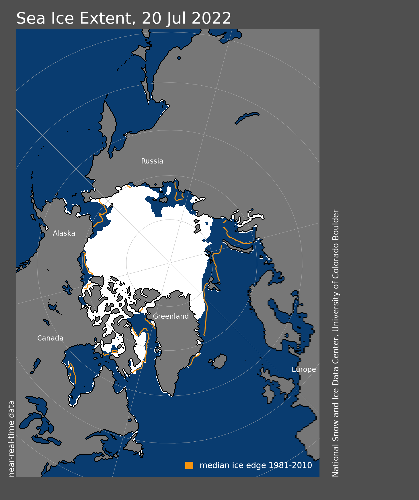 Arctic Sea Ice News and Analysis | Sea ice data updated daily with