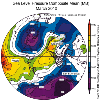 figure 4: air pressure map