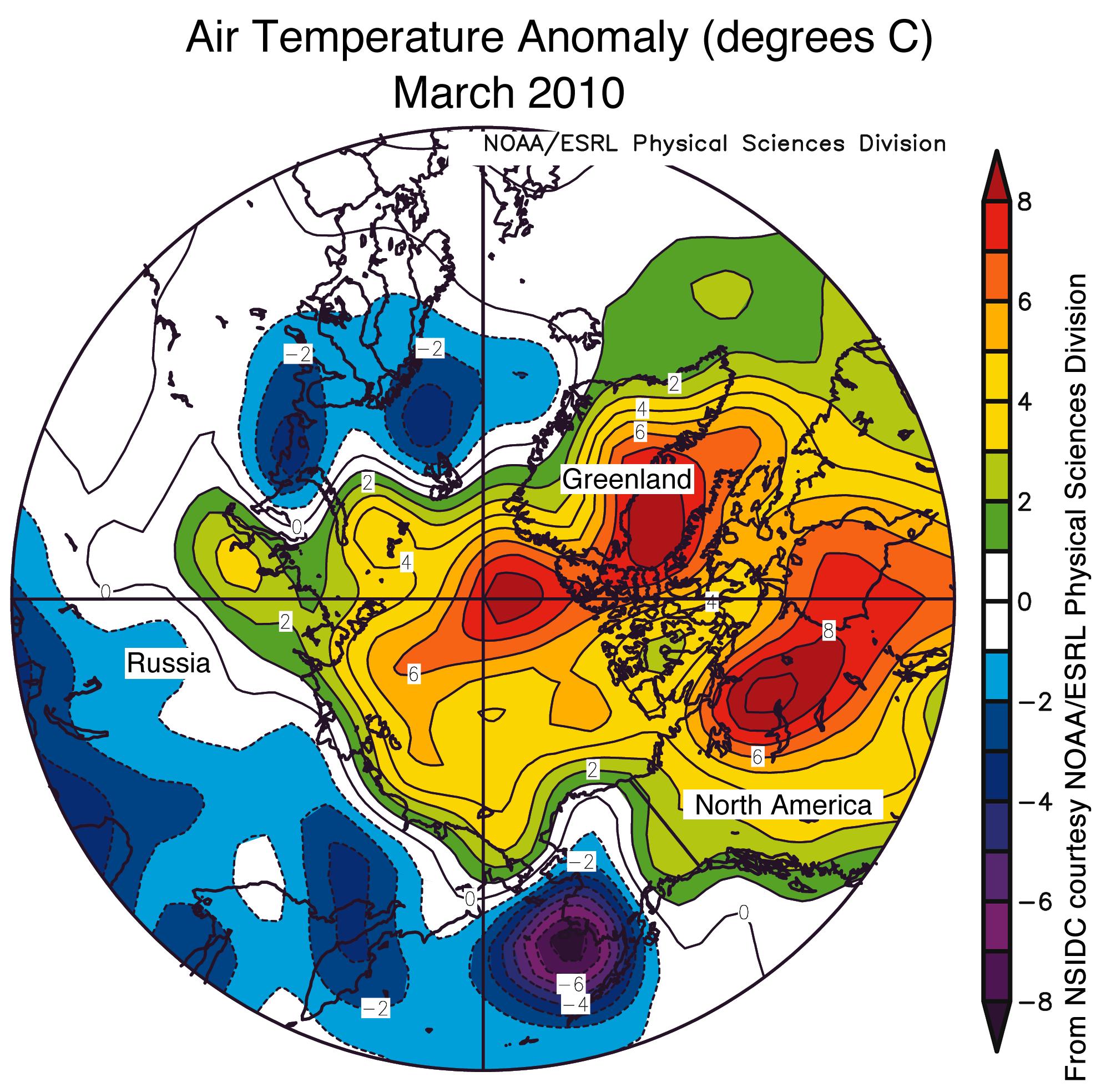 April  2010  Arctic Sea Ice News and Analysis