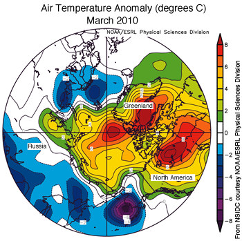 figure 5: air temperature map
