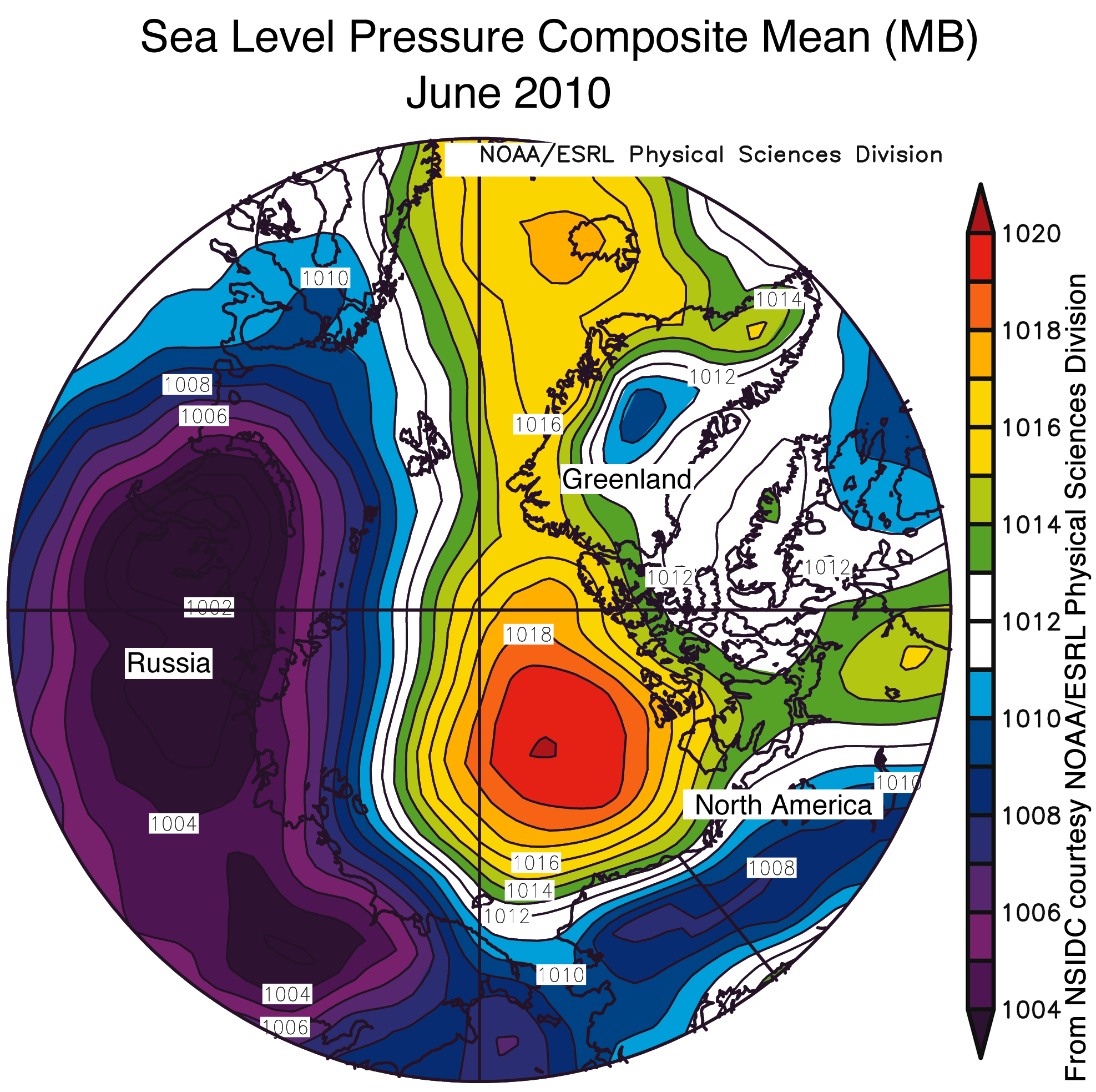 Admin Arctic Sea Ice News And Analysis Page - North america air temperature map