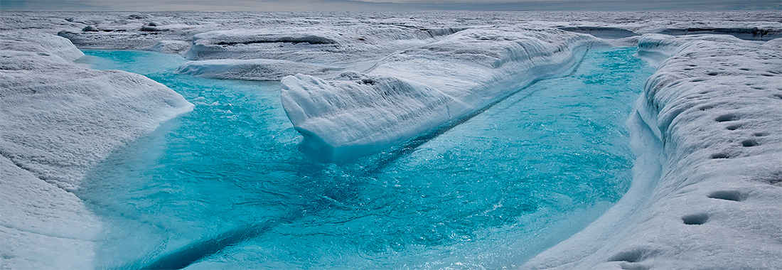 Photo of Greenland Ice Sheet