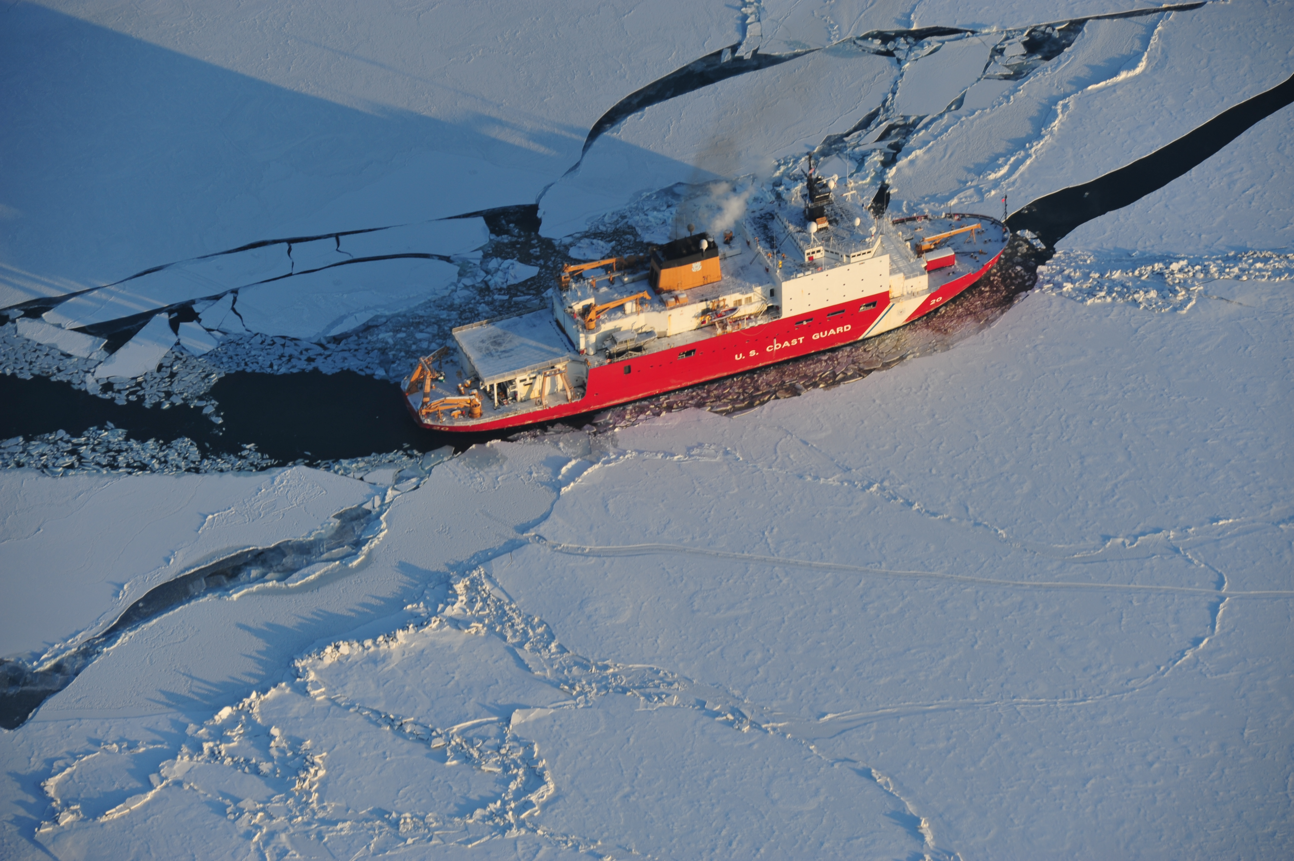 Are icebreakers changing the climate? | National Snow and ...  Are icebreakers...