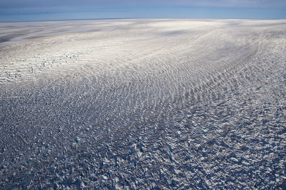 Photograph of the Greenland Ice Sheet