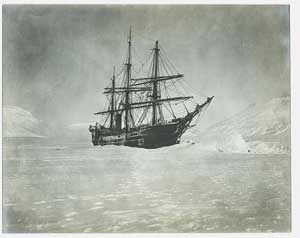 Ship from Baldwin and Zeigler Arctic Expedition