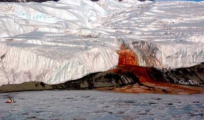 Blood Falls, Taylor Glacier, Antarctica