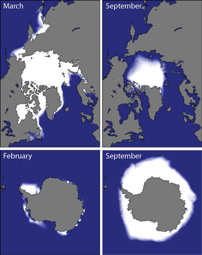 Sea ice long-term climatology