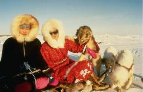 Inuit girls