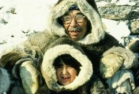 Inuit grandfather