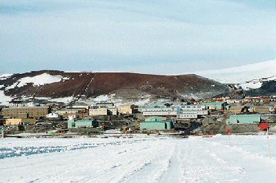 Photo of McMurdo Station