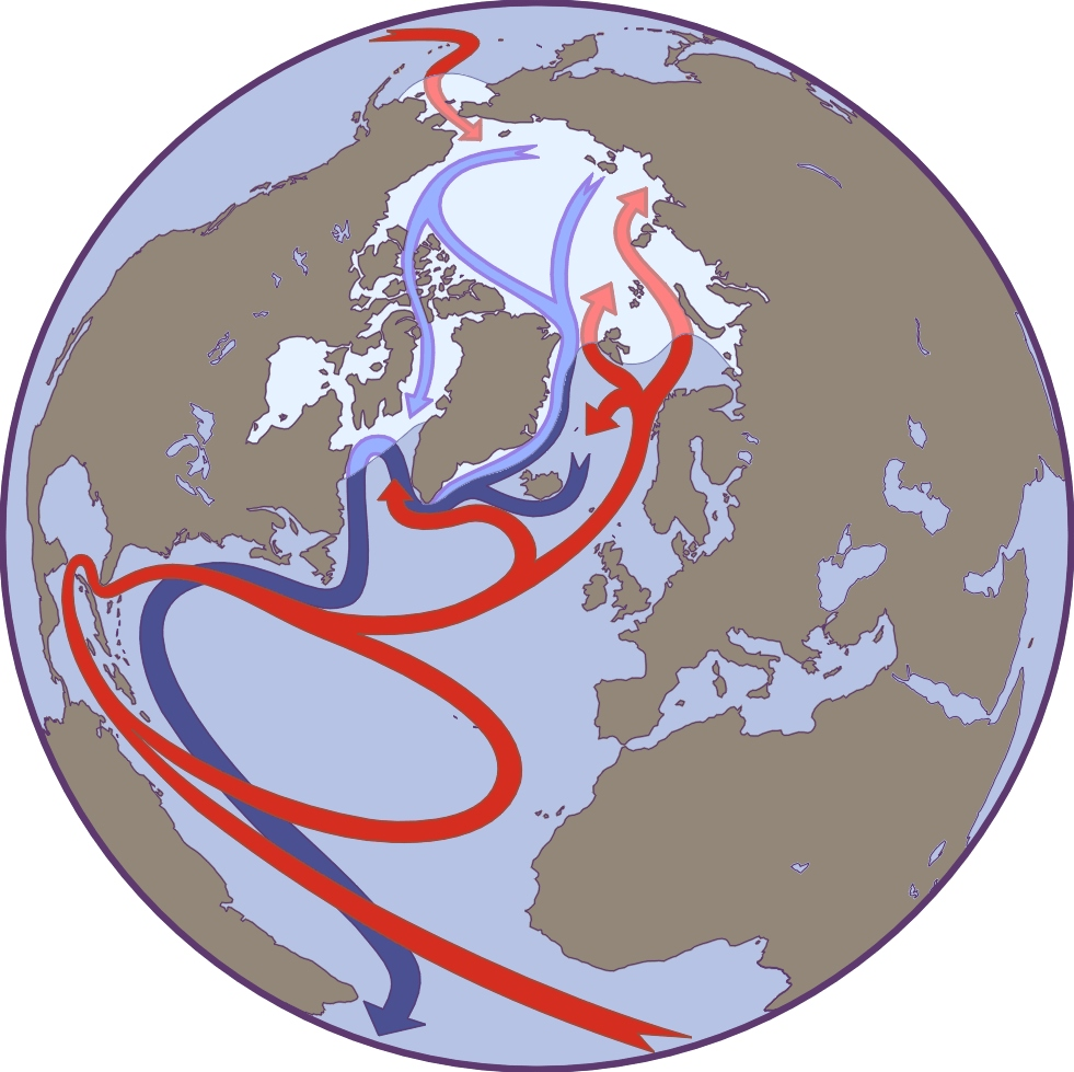 Factors Affecting Arctic Weather And Climate National Snow And - Us weather map with high and low pressure