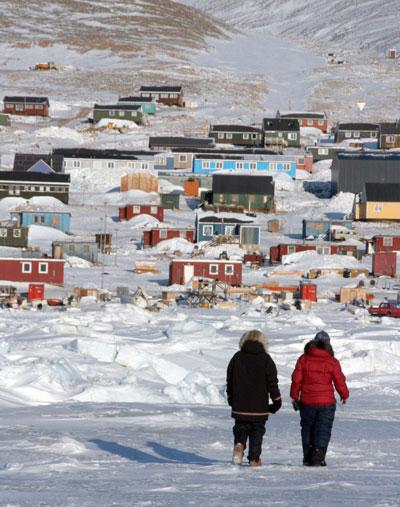 people in Qaanaaq, Greenland