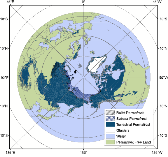 Where is frozen ground national snow and ice data center subsea permafrost gumiabroncs Image collections