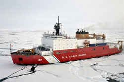 US Coast Guard Icebreaker Healy