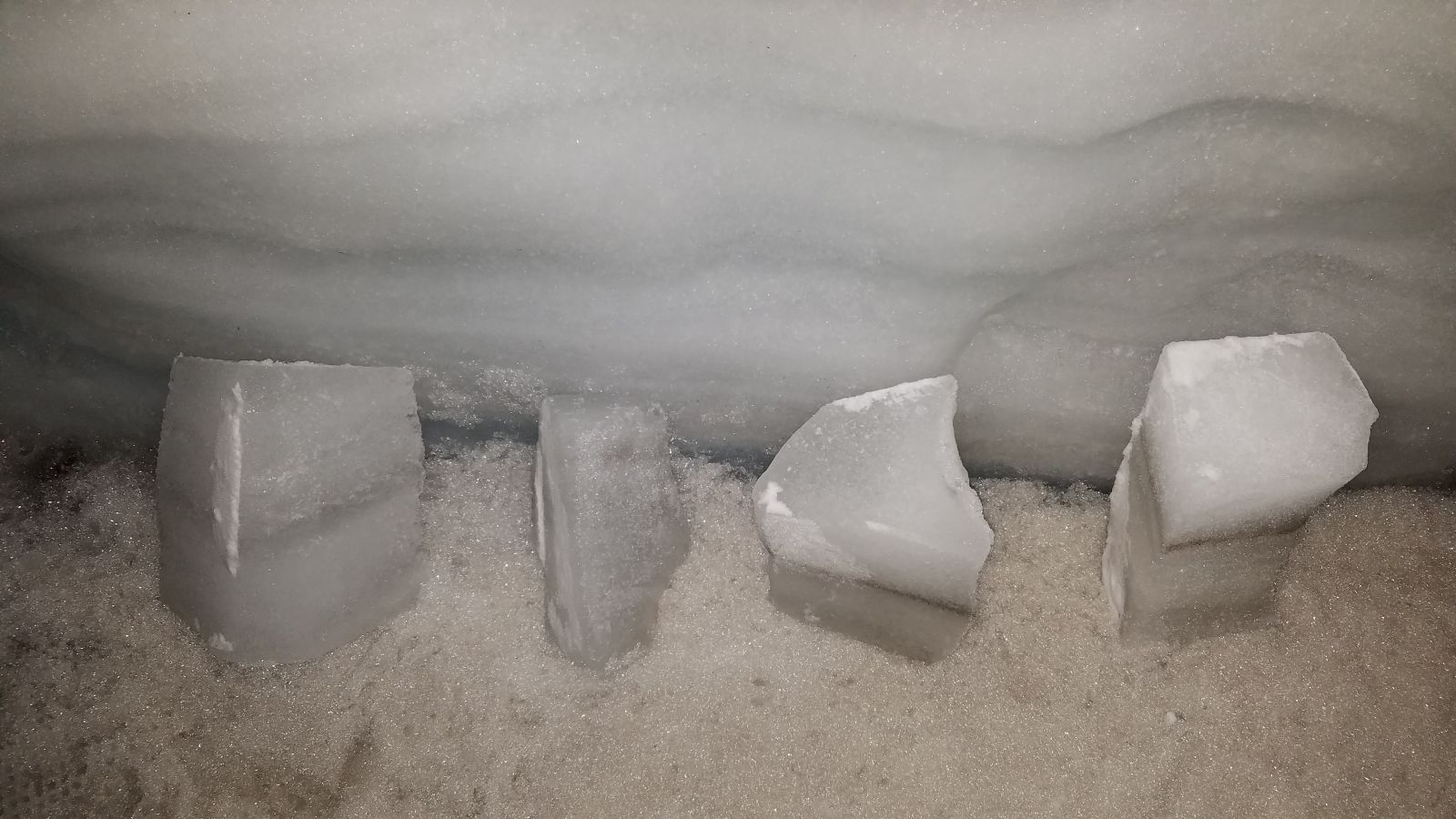 ice samples
