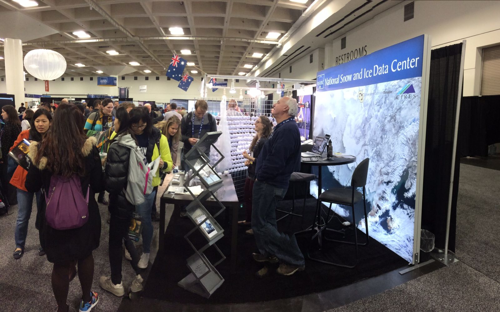 NSIDC booth at AGU