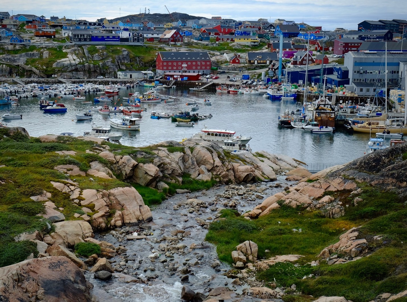 QGreenland aims to serve the needs of researchers, educators, and Greenland residents, like those in the coastal community of Ilulissat.