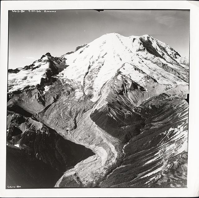 Historic photograph of Emmons Glacier