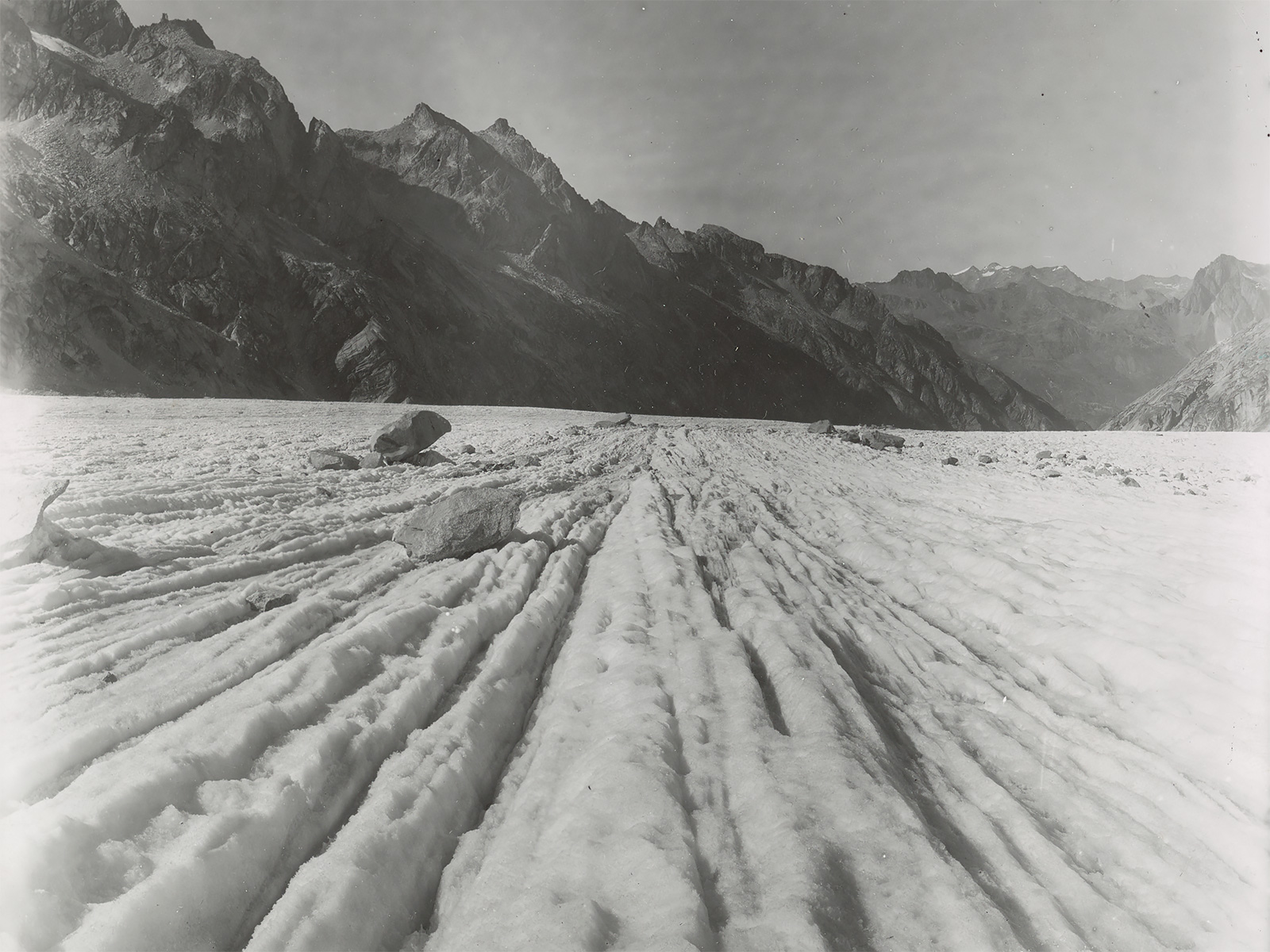Forno Glacier photographed by H.F. Reid