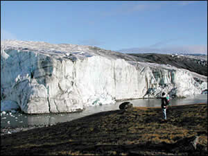 Greenland Ice Sheet edge
