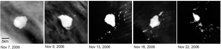 satellite image time series