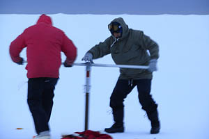 Ice core work
