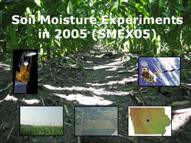 Soil Moisture Experiments in 2005 banner