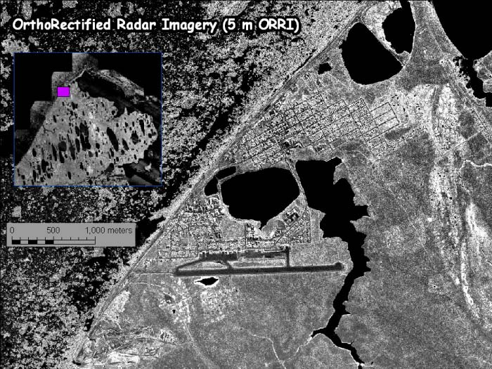 Orthorectified Radar Imagery
