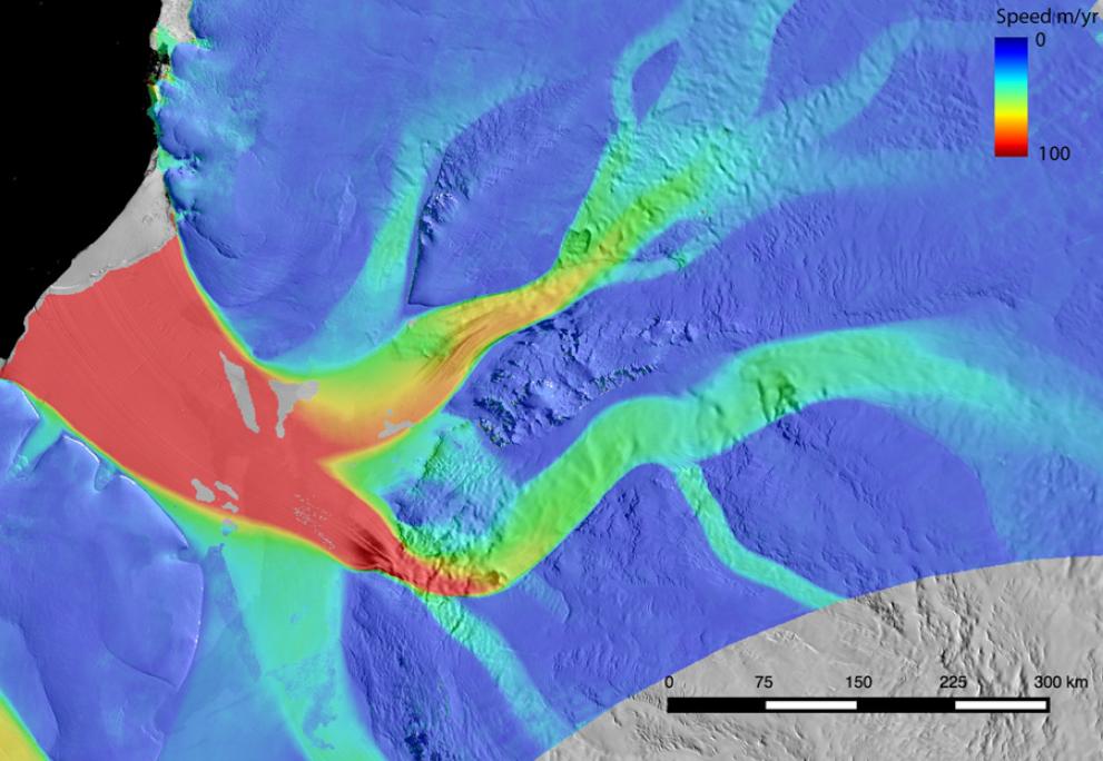 Landsat 8 Ice Speed of Antarctica (LISA), Version 1