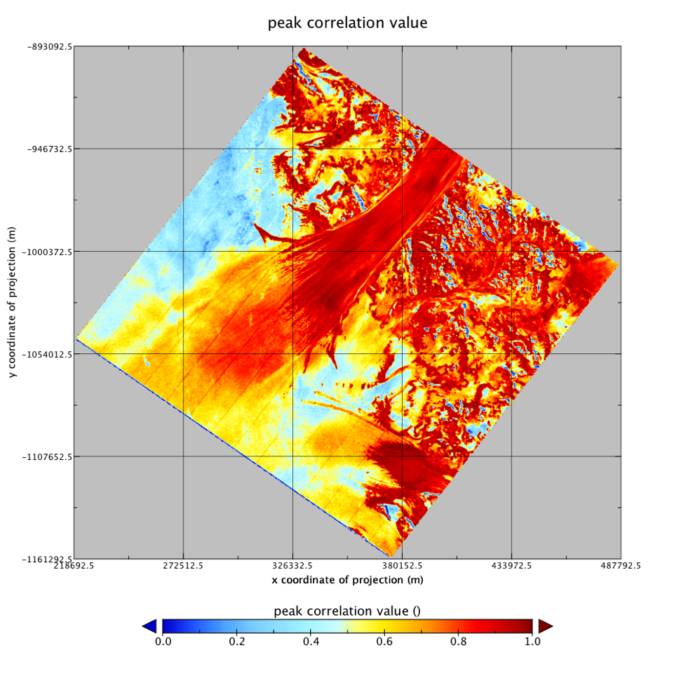 Global Land Ice Velocity Extraction from Landsat 8 (GoLIVE
