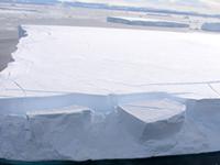 tabular iceberg off antarctica
