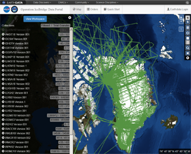 Icebridge Data Portal