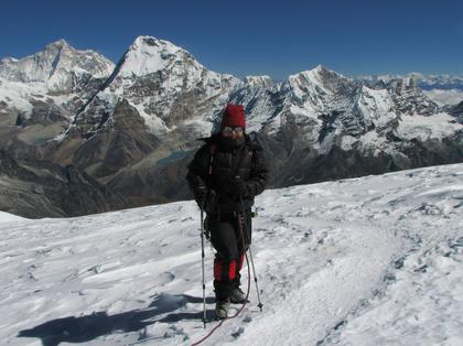 researcher in Nepal