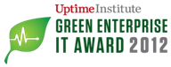 green data center award logo